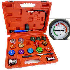 Cap and Cooling System Tester