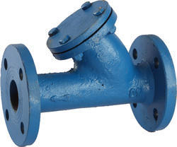 Flanged end CI Y type Strainer