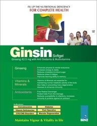 Ginseng Soft Gelatin Capsule