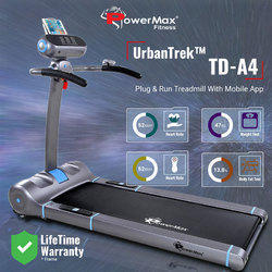 UrbanTrek TD-A4 Motorised Treadmill 100% Pre-Installed