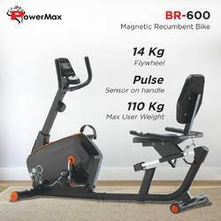 Powermax Magnetic Recumbent Bike (BR 600)