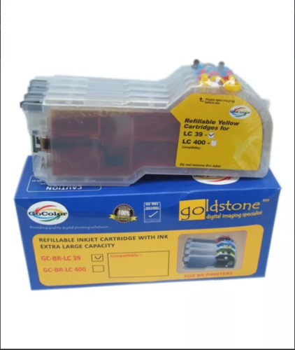 Gocolor Brother REFILLABLE Lc 39 Cartridges