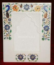 Stone Marble Inlay Photo Frame
