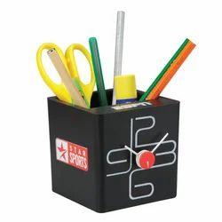 Square Plastic Pen Stand