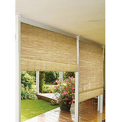 Roll Up Bamboo Blinds