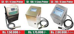 MRP & Batch Number Printer