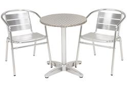 Aluminum Cafe Table