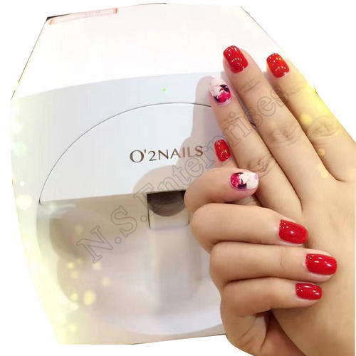 Golden Foil Machine O2 Nails Art Machine Wholesale Trader From Mumbai