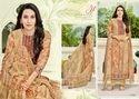Round Neck Eleesaa Salwar Suit Fabric