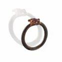 Ruby Rough Electroformed Rings