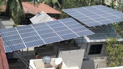 15kwp On Grid Solar Rooftop with Raised Structure