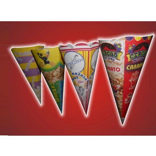 Paper Popcorn Cone