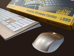 438b64fd278 Lapcare LBS999 Smartoo L999 Wireless Keyboard and Mouse Combo (Gold ...