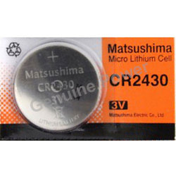 Matsushima CR2430 Lithium Battery