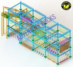 Triple Layer 10 Pole Rope Course