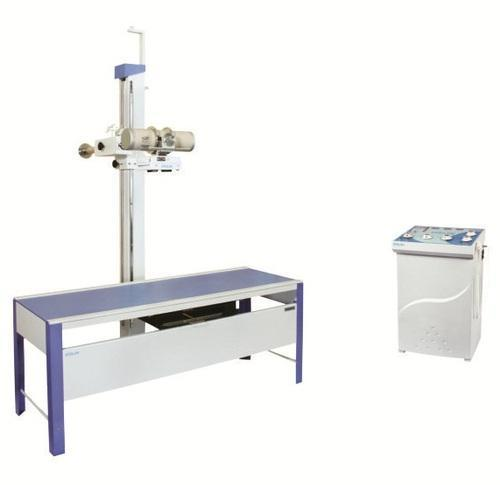 500 mA X-Ray Machine With Horizontal Bucky Table