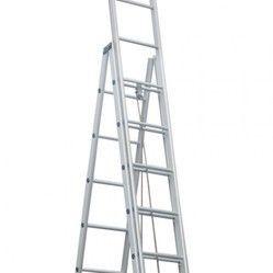 Aluminum Self Supporting Telescopic Ladder