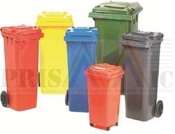 Two Wheeled Waste Bin
