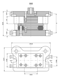 Mechanical Component Drawing