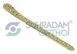 LCP Medial Distal Tibia Plate 3.5mm