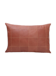 Leather cushion cover