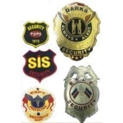 Security Metal Badges