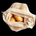 100% GOTS Mesh Fabric Bags - Reusable Bag