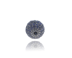 Blue Sapphire Ball Findings