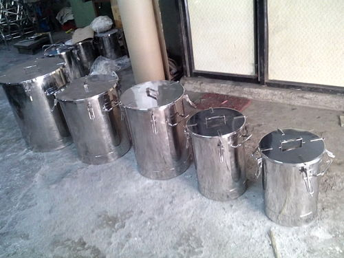 Pharma Storage Containers Stainless Steel Storage