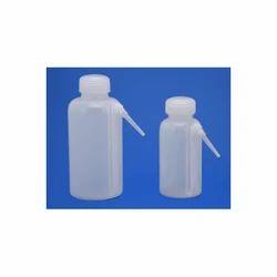 Wash Bottle Ingle Piece LDPE