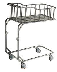 Infant Cot, SS, Height Adjustable
