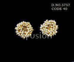 Traditional Pearl Stud Earrings