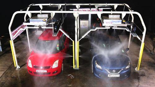 Car Washing System Automatic Twin Car Washing System