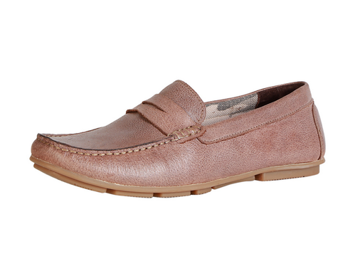 Men Business Casual Shoes - Peter England Brown Loafers Shoes Wholesaler  from New Delhi