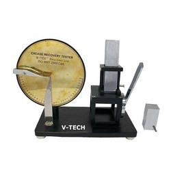 Crease Recovery Tester
