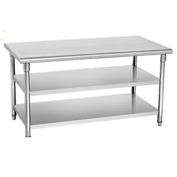 Steel Kitchen Tables - Kitchen Sink Work Table Manufacturer from New ...