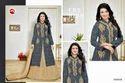 Collar Neck Full Sleeve Moof Salwar Suit
