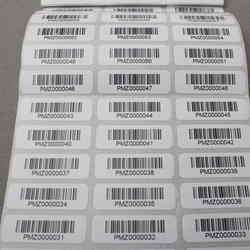Custom Barcode Sticker