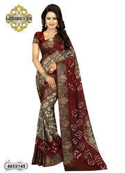 Fancy Bandhani Printed Saree