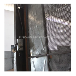 Industrial Hoist Cage Door. Click to Zoom  sc 1 st  Fusion Fabrication Works Chennai & Hoist Doors - Rope Guide Hoist Doors Manufacturer from Chennai