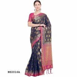 Fancy Silk Weaving Saree