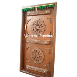 Hand Craved Wooden Door  sc 1 st  Micro Art Furniture & Wooden Doors - Hand Craved Wooden Door Manufacturer from Bengaluru