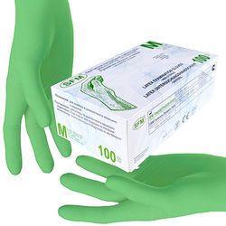 Non Sterile Powdered Latex Examination Gloves