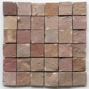 Autumn Brown sandstone Wall cladding mosaic tile