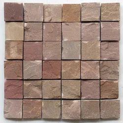 Autumn Brown sandstone Wall cladding mosaic tile