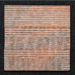 Pink Marble F Pattern For Fountain Wall Cladding