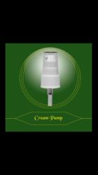 Plastic Cream Pump
