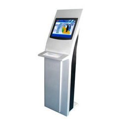Touch Screen Visitor Management Kiosk With Camera