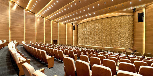 Auditorium Acoustic Panels Acoustic Panels In Auditorium