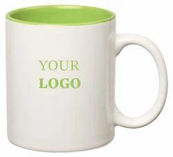 Promotional inside Light Green Mug